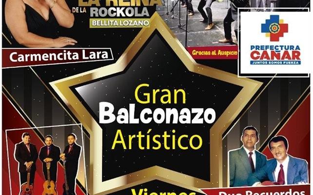 BALCONAZO ARTÍSTICO EN LA PARROQUIA MANUEL J CALLE.